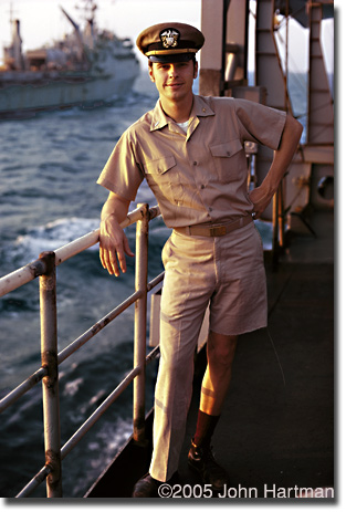 """Captain E.J. Randall, in 1970"" photograph"